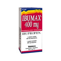 IBUMAX 400 mg tabl, kalvopääll 10 fol